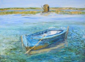 ANNIE DE BOER<br />Sa peinture exprime l'amour avec un grand A