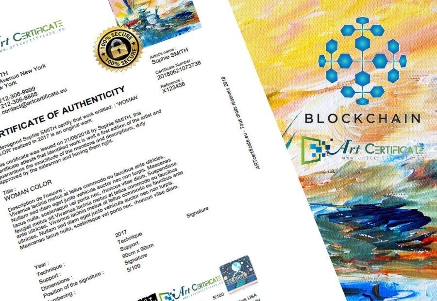 Certificat Blockchain