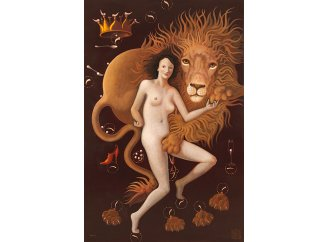 Le Lion amoureux (The Lion in love) - oil on canvas - 195 x 130 cm