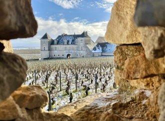 Le château du Clos Vougeot en cadre