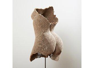 Norah - Sculpture en dentelle de carton