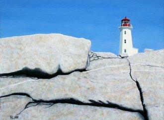 Peggy's Cove  (Peggy's Cove, Nova Scotia Canada)