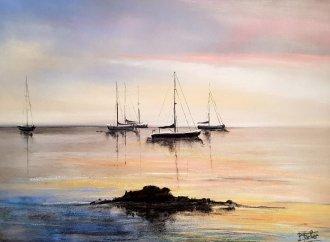 Dans la baie de Collioure