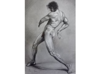 Dynamic Rotations of a Male Nude