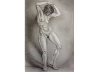 Female Nude With Bowed Head