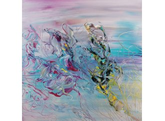 flowers dancing in the See , by Dilay Hadba