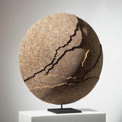 Mare Tranquilitatis - Sculpture en dentelle de carton