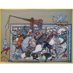 bataille médiévale