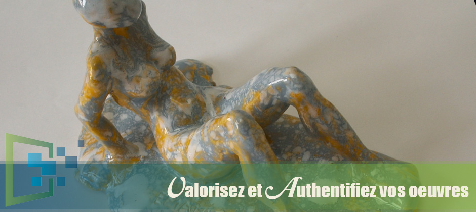 Certificate of authenticity sculpture